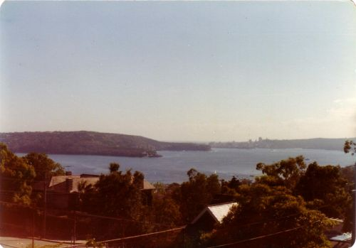 Looking out towards Manly
