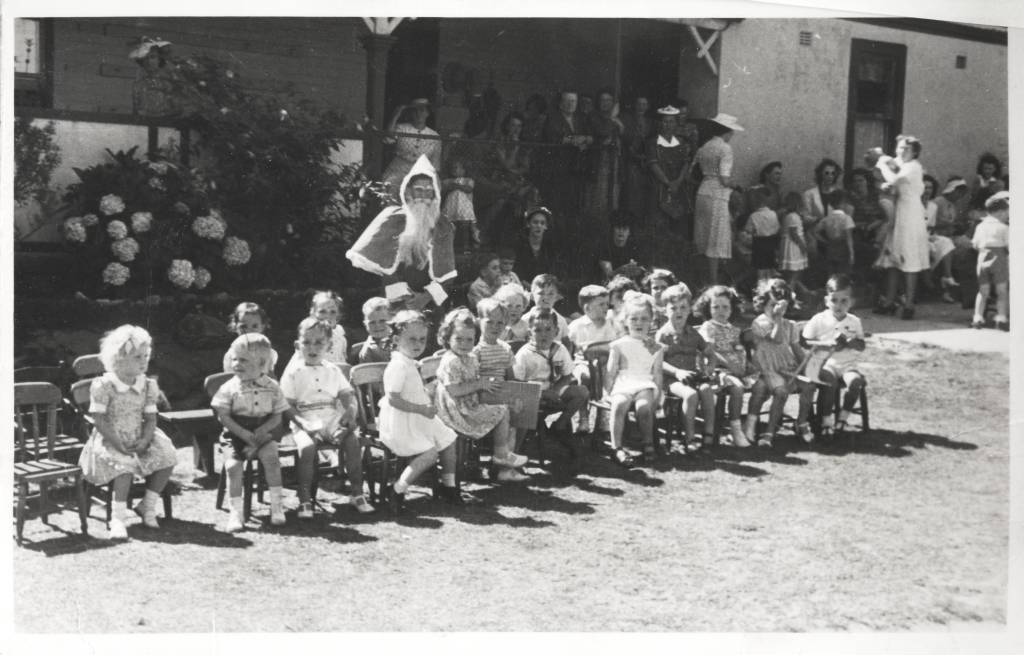 Malvern Kindergarden Christmas Party July 1947