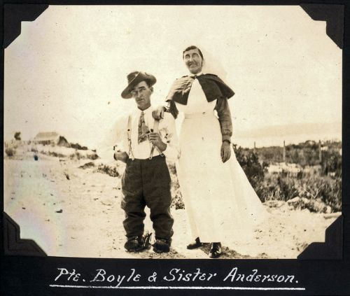 Pte. Boyle & Sister Anderson